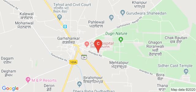 B.A.M. Khalsa College, Anandpur Road, Garhshankar, Punjab, India