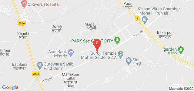 Plaksha University, IT City Road, JLPL Industrial Area, Mohali, Punjab, India