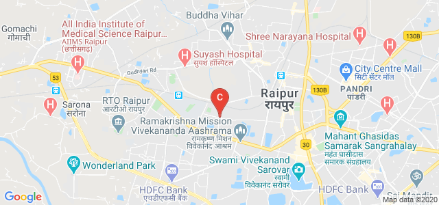 Pragati College, Near Shikahar Medical Store, Central Avenue, Choubey Colony, Ramkund, Raipur, Chhattisgarh, India
