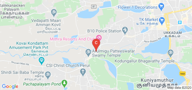 Thavathiru Santhalinga Adigalar Arts and Science College, Perur Main Road, Perur, Coimbatore, Tamil Nadu, India