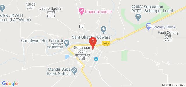 144626, Kapurthala Road, Dera Saidan, Sultanpur Lodhi, Punjab, India