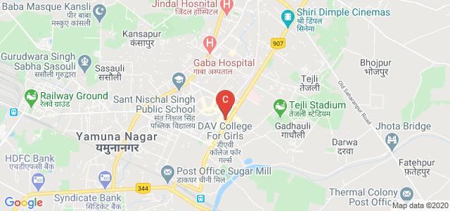 D.A.V. College For Girls, Model Colony, Yamuna Nagar, Yamunanagar, Haryana, India