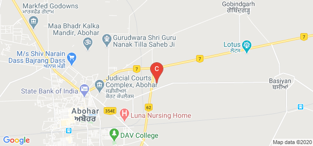 Guru Nanak Khalsa College, Abohar Bypass Road, Panj Peer Nagar, Abohar, Punjab, India