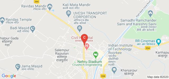 Saharanpur Road, Gulaab Nagar, Rampur, Roorkee, Uttarakhand 247667, India