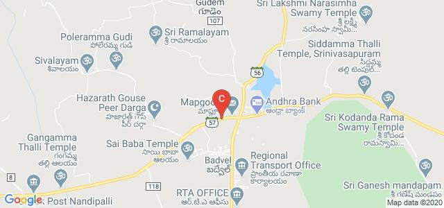 Mydukur - Badvel Road, Middelavaripalem, Badvel, Andhra Pradesh 516227, India
