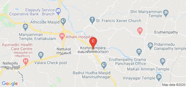 Kozhinjampara, Palakkad, Kerala 678555, India