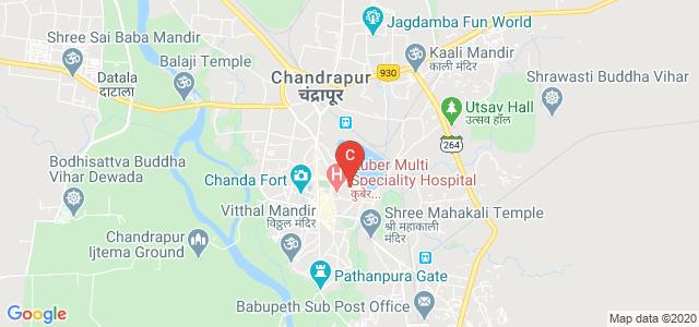 Sardar Patel College, Sabji Mandi, Nawargoan, Bazar Ward, Chandrapur, Maharashtra, India