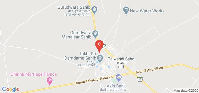 Mata Sahib Kaur Girls College, Talwandi Sabo, Bathinda, Punjab, India
