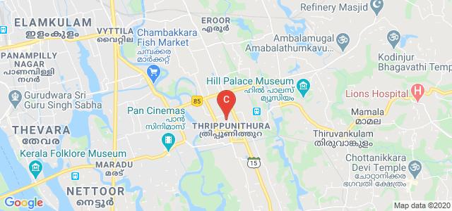 Chinmaya College of Arts, Commerce and Science, Layam Road, Near Statue Juntion, Thrippunithura, Kochi, Kerala, India