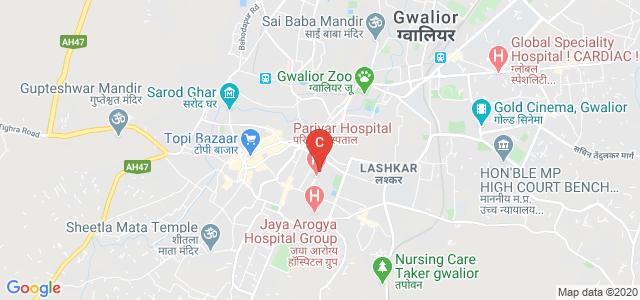 Engineers Combine, Hospital Road, Lalitpur Colony, Lashkar, Gwalior, Madhya Pradesh, India