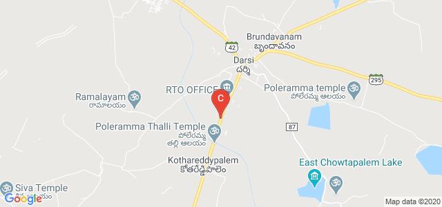 Podili Road, Gandhi Nagar, Darsi, Andhra Pradesh, India