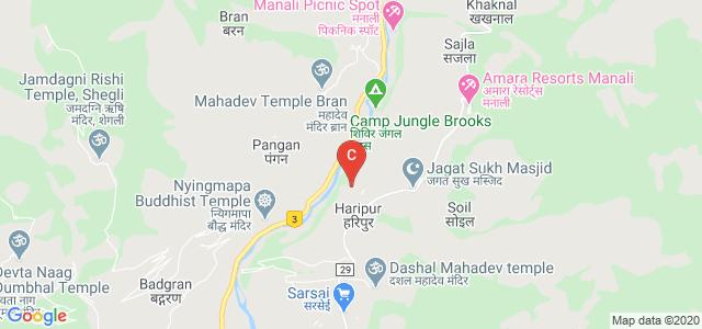 Jawahar Lal Nehru Government Degree College, Kullu - Naggar - Manali Road, Haripur, Himachal Pradesh, India
