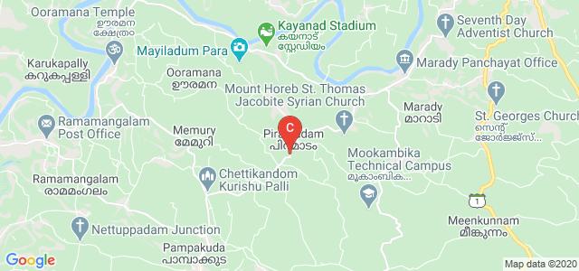 Muvattupuzha - Pampakkuda - Mamalassery Rd, Piramadam, Kerala 686667, India