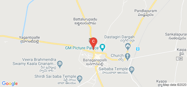 Government Degree College, Banganapalle, Andhra Pradesh, India