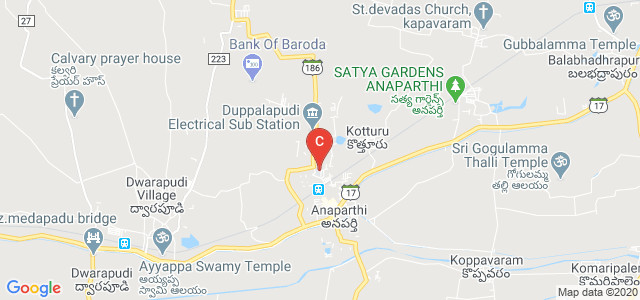 Government Polytechnic College Anaparthi, Rajanagaram Pedaparthi Revu Road, beside Anaparthy, Anaparthy, Andhra Pradesh, India
