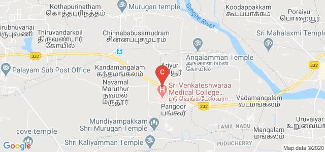 Villupuram Road, Ariyur, Puducherry 605102, India