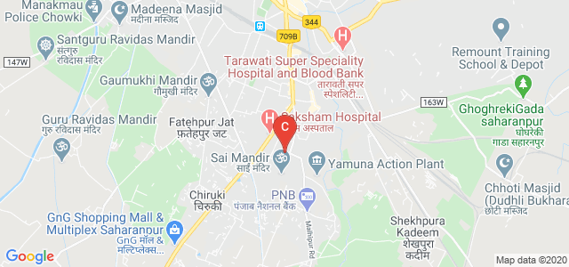 JV Jain College, Avas Vikas Colony, PoliceLine, Saharanpur, Uttar Pradesh, India