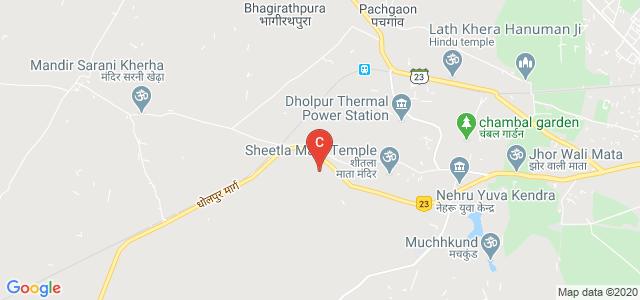 Govt. Polytechnic College, Dholpur, NH 11B, Purani Chhawni, Dholpur, Rajasthan, India