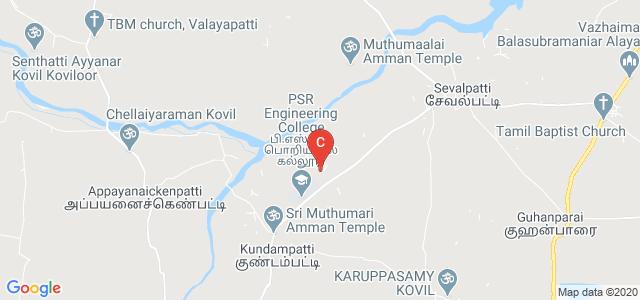 PSR Polytechnic College, Unnamed Road, Appayanaickenpatti, Tamil Nadu, India