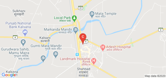 Arya Kanya College, Subhash Nagar, Shahabad, Haryana, India