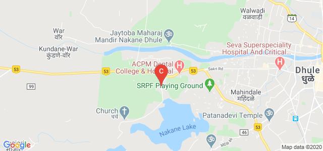 JMF's ACPM Medical College & Hospital, Morane Pr. Laling, Dhule, Maharashtra, India
