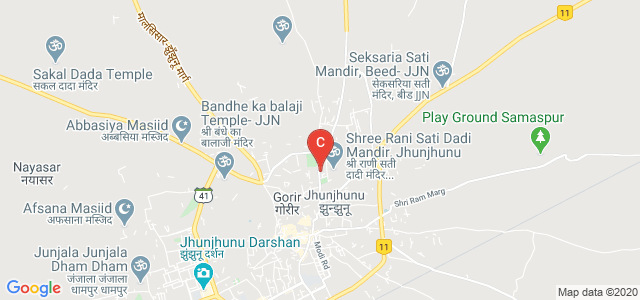 Seth Motilal Law College, Rani Sati Road, Near Rani Sati Temple, Chobari Mandi Colony, Jhunjhunu, Rajasthan, India