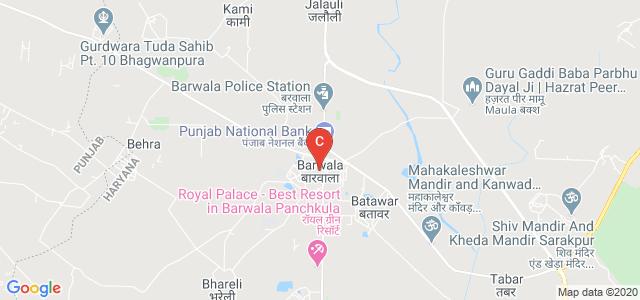 Barwala, Panchkula, Haryana 134118, India