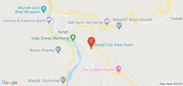 Kargil City View Point, Khurba Thang, Kargil