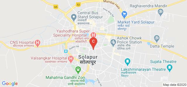 Dr Vaishampayan Memorial Govt Medical College, South Sadar Bazar, Jawaharlal Housing Society, Sidheshwar Peth, Solapur, Maharashtra, India