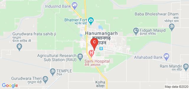 Nehru Memorial Law P.G. College, Hanumangarh Town, Rajasthan, India