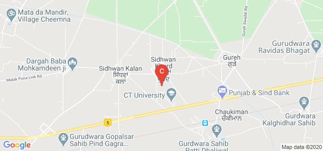G.h.g Institute Of Law, Sidhwan Khurd, Punjab, India