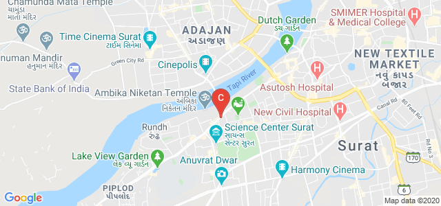 V.T. Choksi Sarvajanik Law College, Surat - Dumas Road, Meghdoot Society, Athwalines, Athwa, Surat, Gujarat, India