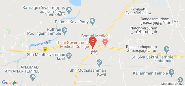 Theni Medical College, Tamil Nadu, India