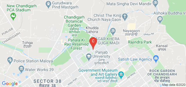 Department of Laws Block 2, Madhya Marg, Panjab University, Sector 14, Chandigarh, India