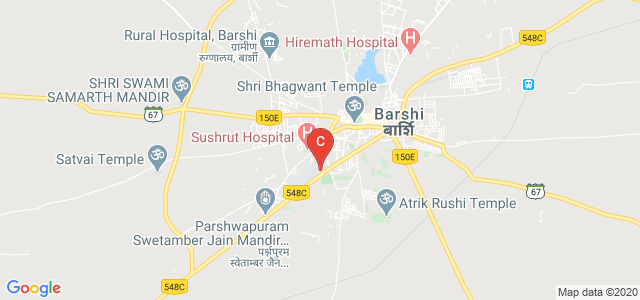 SSSPM's Rajarshi Shahu Law College, Barshi, Barshi - Pandharpur Road, Chatrapati Colony, Barshi, Maharashtra, India