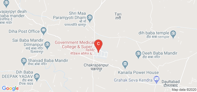 Government Medical College & Super Facility Hospital, Chakrapanpur, Uttar Pradesh, India