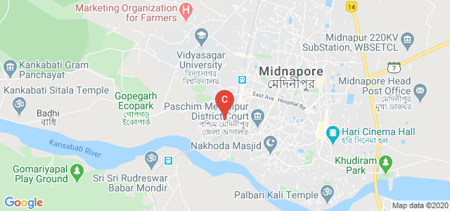 Midnapore Law College, Vidyasagar University Rd, Rangamati, Medinipur, West Bengal, India