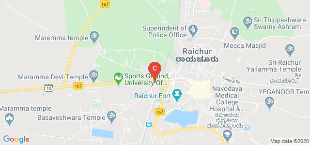 GOVT. FIRST GRADE COLLEGE,RAICHUR, Nijalingappa Colony, Raichur, Karnataka, India
