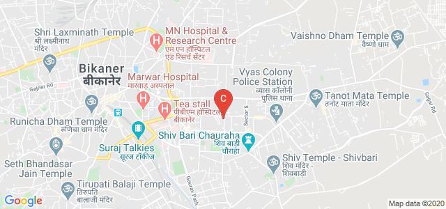 Government Law Post Graduate College, Dungar College Road, Jai Narayan Vyas Colony, Bikaner, Rajasthan, India