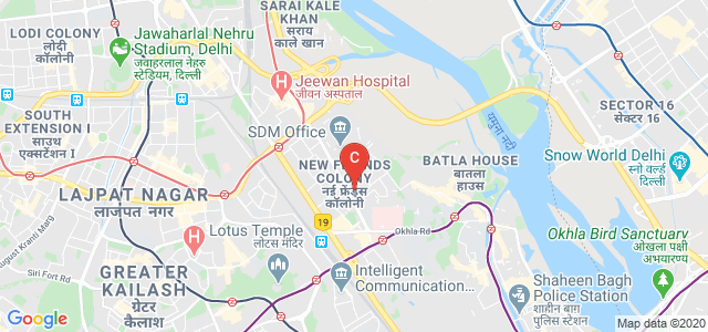 Iaan School Of Mass Communication, Lane 2, Bharat Nagar, New Friends Colony, New Delhi, Delhi, India