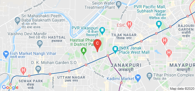Indira Gandhi Institute of Physical Education & Sports Sciences, Shaheed Rajguru Marg, A-Block, Vikaspuri, New Delhi, Delhi, India