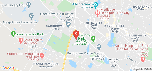 National Institute of Tourism and Hospitality Management, Telecom Nagar Extension, Gachibowli, Hyderabad, Telangana, India