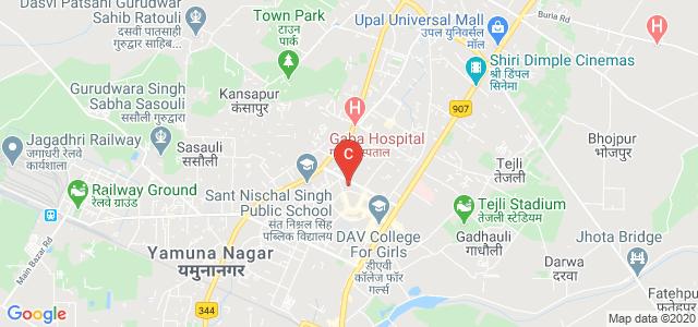 J.N. Kapoor, D.A.V Centenary Dental College, Model Town, Yamuna Nagar, Haryana, India
