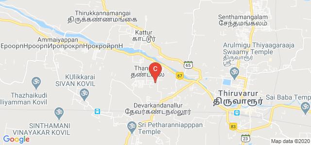 Govt. Thiruvarur Medical College, Thandalai, Thiruvarur, Tamil Nadu, India