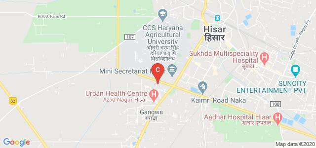 C.R. LAW COLLEGE, HISAR, Hisar - Rajgarh Road, Quarter Colony, Azad Nagar, Hisar, Haryana, India