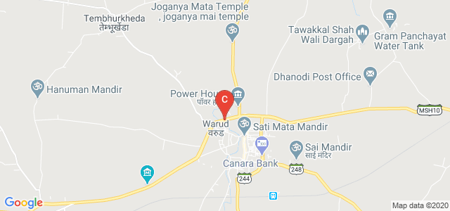 Mahatma Fule Arts,Commerce & Sitaramji Choudhari Science Mahavidyalaya, Warud, Maharashtra Major State Highway 10, Warud, Maharashtra, India