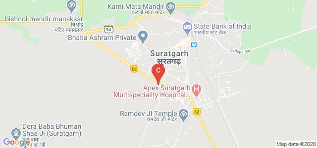 Government College, 37 PBN Village, Suratgarh, Rajasthan, India
