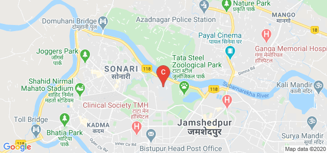 Jamshedpur Co-operative College, Circuit House Area, Sonari, Jamshedpur, Jharkhand, India