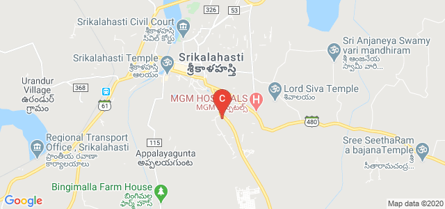 Srikalahasti, Chittoor, Andhra Pradesh 517644, India