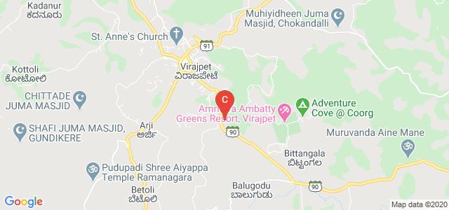 Cauvery P U C & Degree College, Virajpet, Panjarpet, Virajpet, Karnataka, India